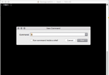 new command