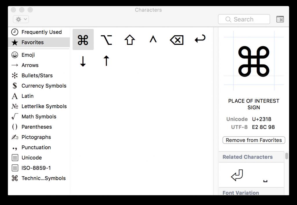 mac emoji