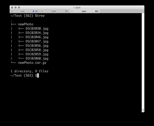 맥 Unix 터미널에서 Tree Command로 트리 형식의 파일 구조 보기 Mac In June
